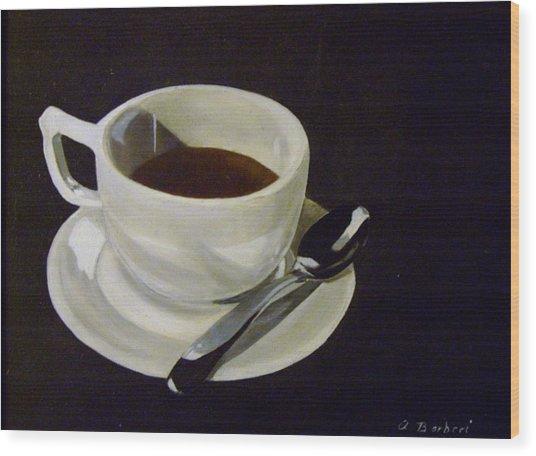 Morning Joe Wood Print
