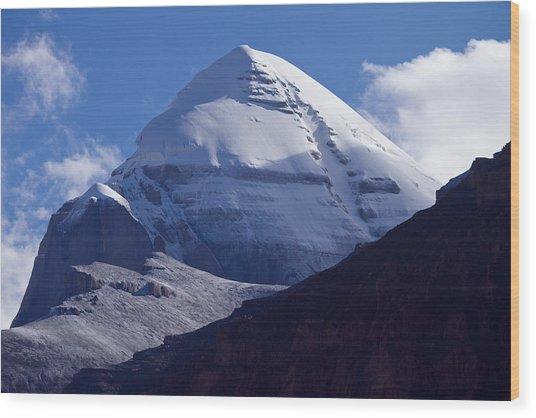 Mount Kailash Wood Print