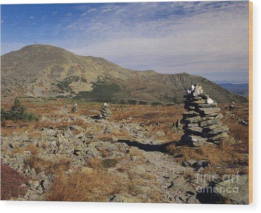 Mount Washington - White Mountains New Hampshire Wood Print