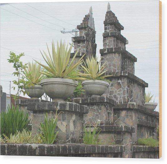 Nusa Dua Wood Print