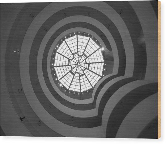Nyc Guggenheim Wood Print
