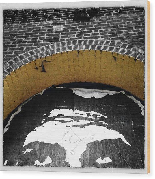 Obey Giant Wood Print