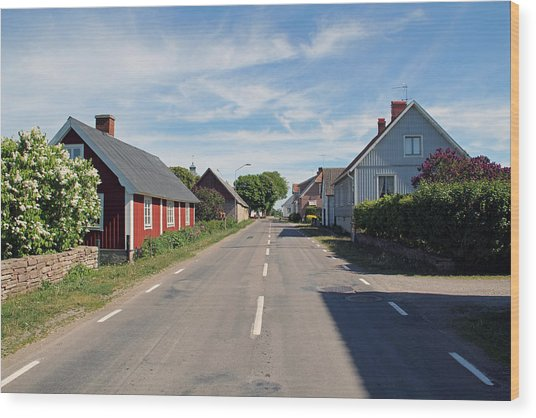 Oland Sweden Wood Print