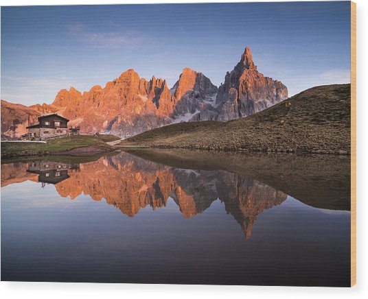 Pale Di San Martino Wood Print