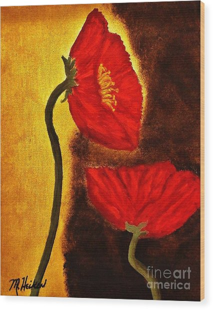 Poppy Ll Wood Print