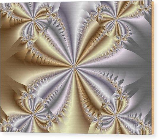Quadrant Wood Print