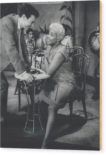 Rehearsing New Negro Musical Comedy Wood Print by Retro Images Archive
