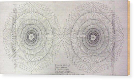 Relativity Wood Print