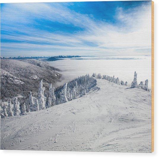 Ridgeline Wood Print