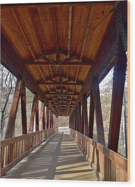 Roswell Bridge Wood Print