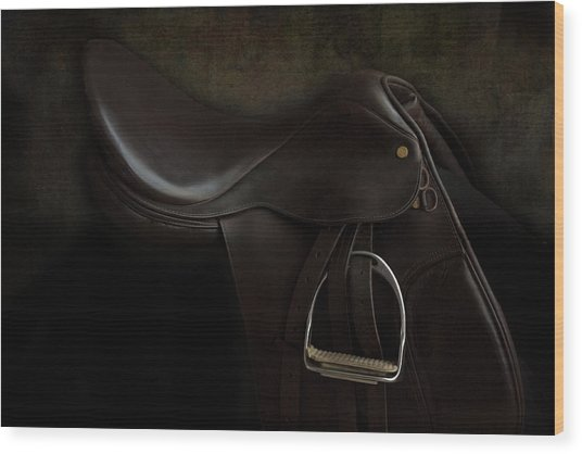 Saddle 2 Wood Print