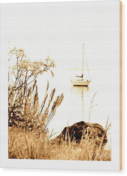 Sailboat Wood Print