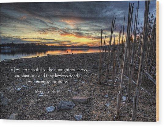 Scripture Photo Wood Print