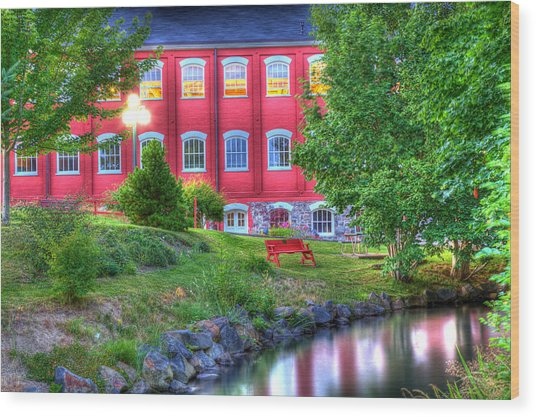 Serenity In Hdr Wood Print