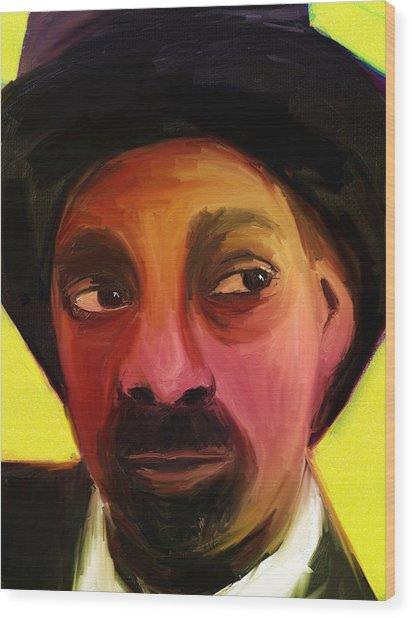 Snoop Dogg Wood Print