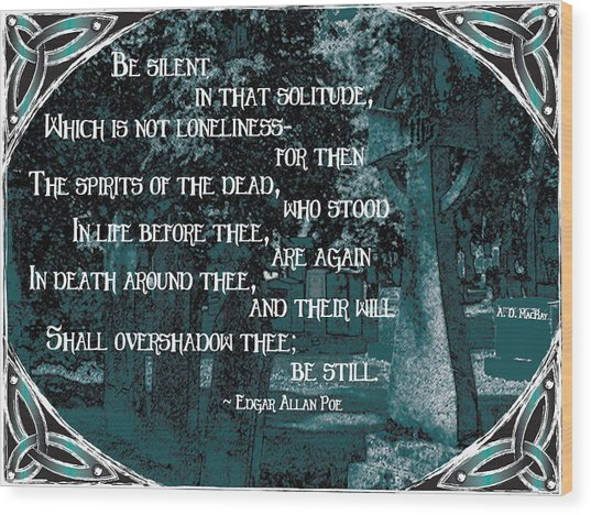 Spirits Of The Dead Wood Print