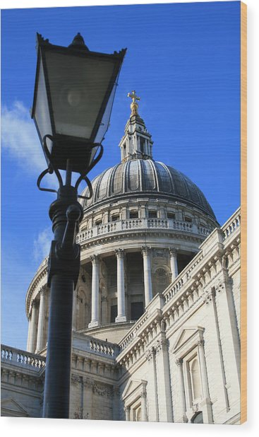 St Pauls Cathedral Wood Print