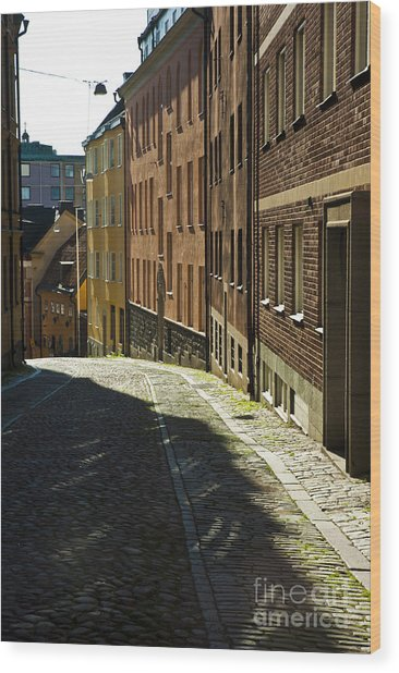 Stockholm Sweden Wood Print by Micah May