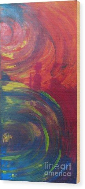 Storm II Wood Print