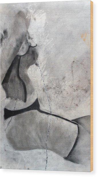 Study Wood Print by Corina Bishop