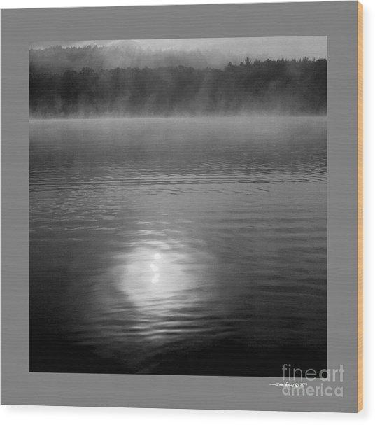 Sunrise Over Lower Lake Rhoda Wood Print