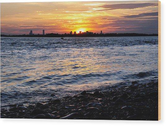 Sunset Beauty Wood Print