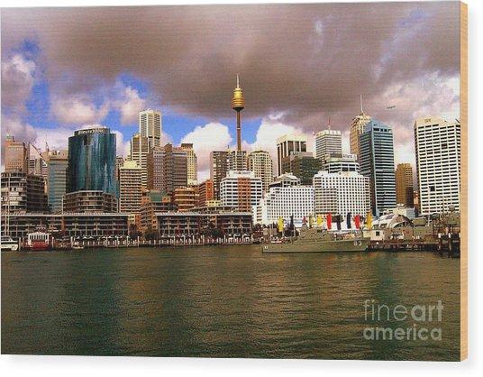 Sydney Australia Wood Print by John Potts