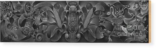 Tapestry Of Gods Wood Print