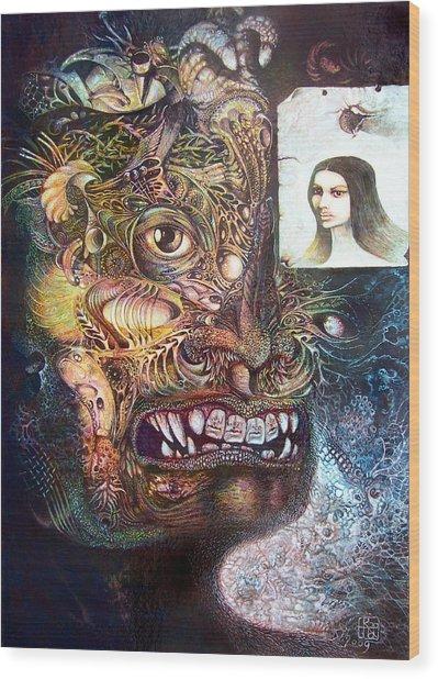 The Beast Of Babylon Wood Print
