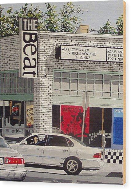 The Beat In Midtown Wood Print by Paul Guyer