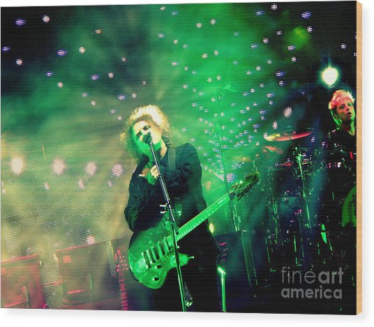The Cure Robert Smith Wood Print