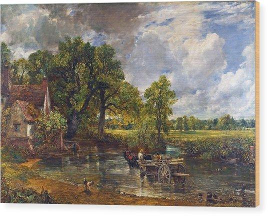 The Hay Wain Wood Print by John Constable