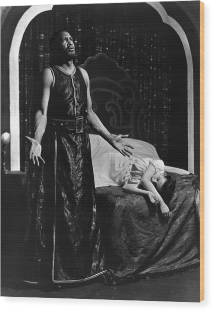 Theatre Othello, 1943 Wood Print by Granger