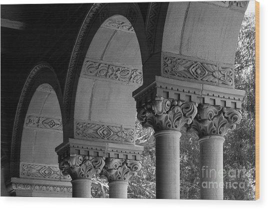 University Of California Los Angeles Royce Hall Wood Print by University Icons