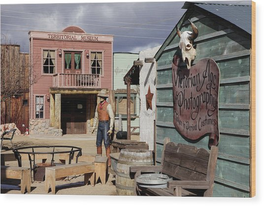 Williams, Arizona, United States Wood Print