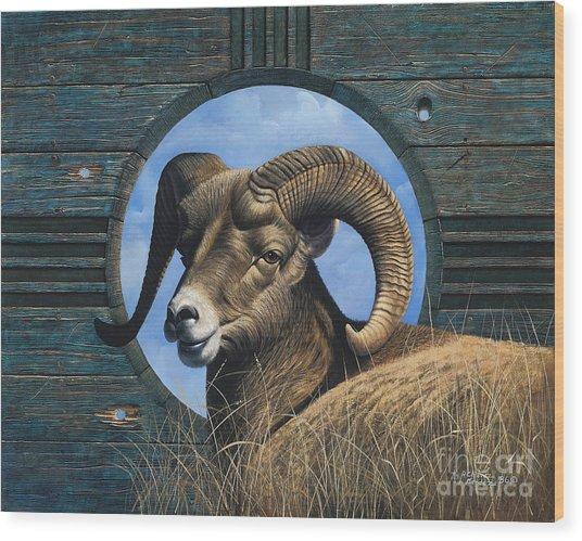 Zia Ram Wood Print