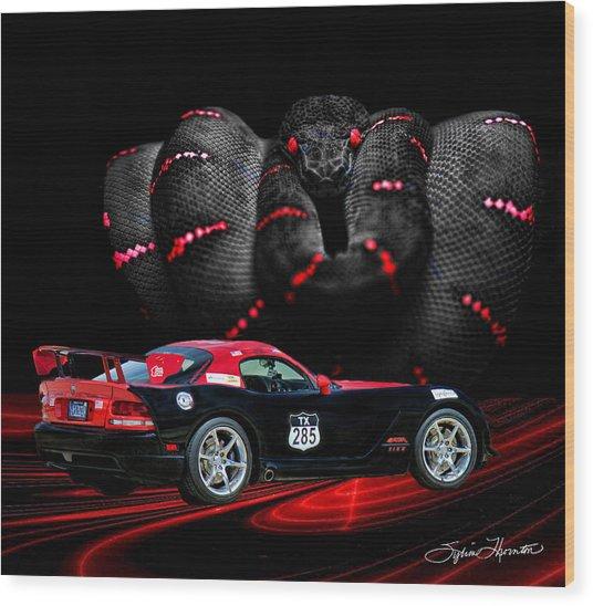 2010 Dodge Viper Wood Print