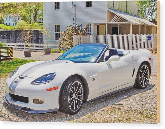 2013 Corvette 427 Anniversary Special Wood Print