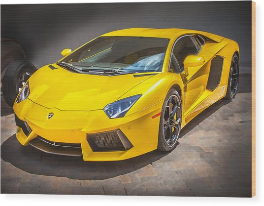 2013 Lamborghini Adventador Lp 700 4 Wood Print