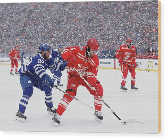 2014 Bridgestone Nhl Winter Classic - Wood Print