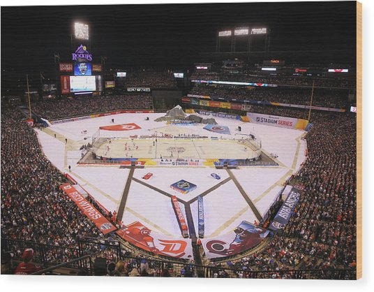 2016 Coors Light Stadium Series - Wood Print