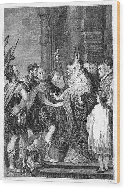 St Wood Print by Granger