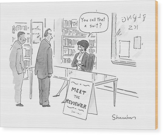 New Yorker June 13th, 2005 Wood Print