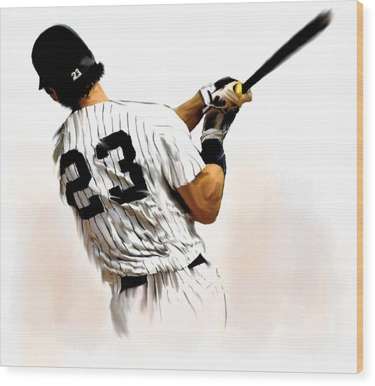 23   Don Mattingly  Wood Print