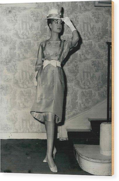 Paris Fashions Wood Print by Retro Images Archive