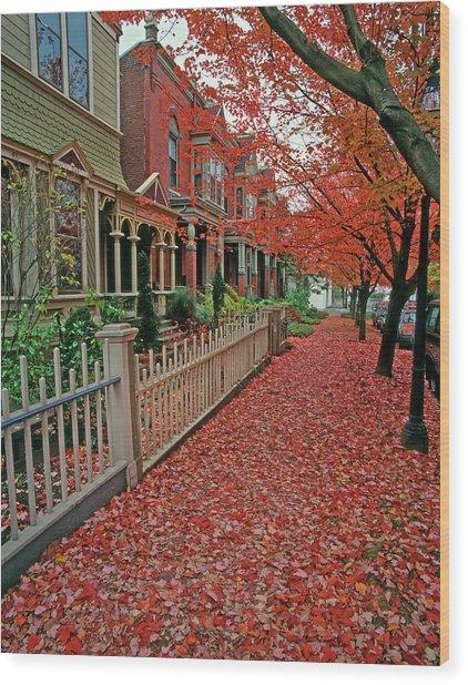 Usa, Oregon, Portland Wood Print