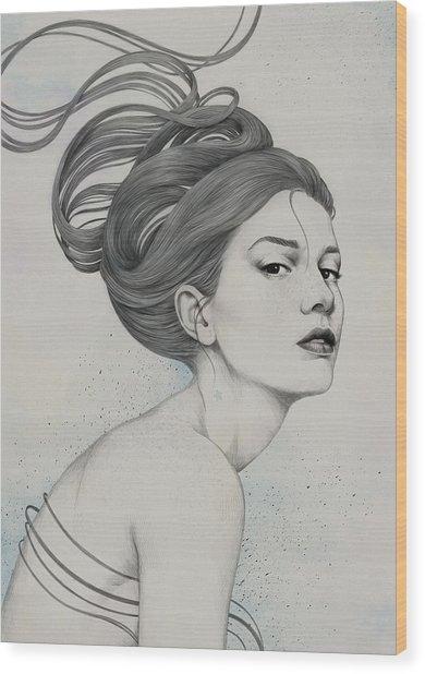 230 Wood Print by Diego Fernandez