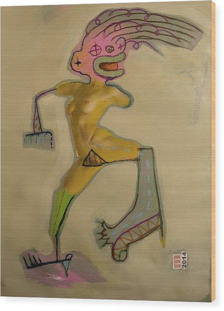 2553 Wood Print