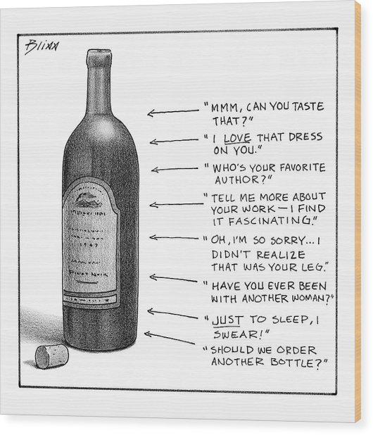 New Yorker February 19th, 2007 Wood Print