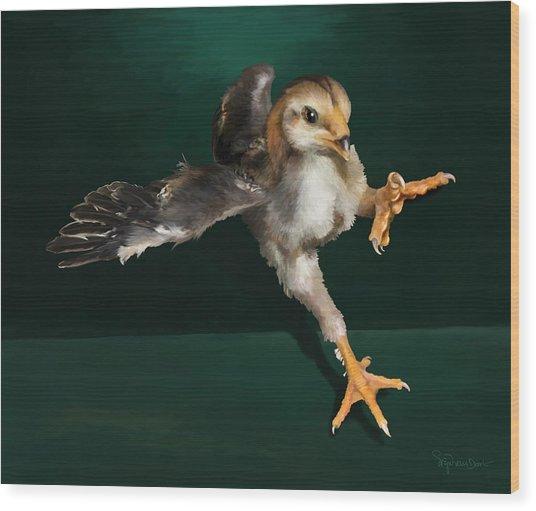 29. Yamato Chick Wood Print